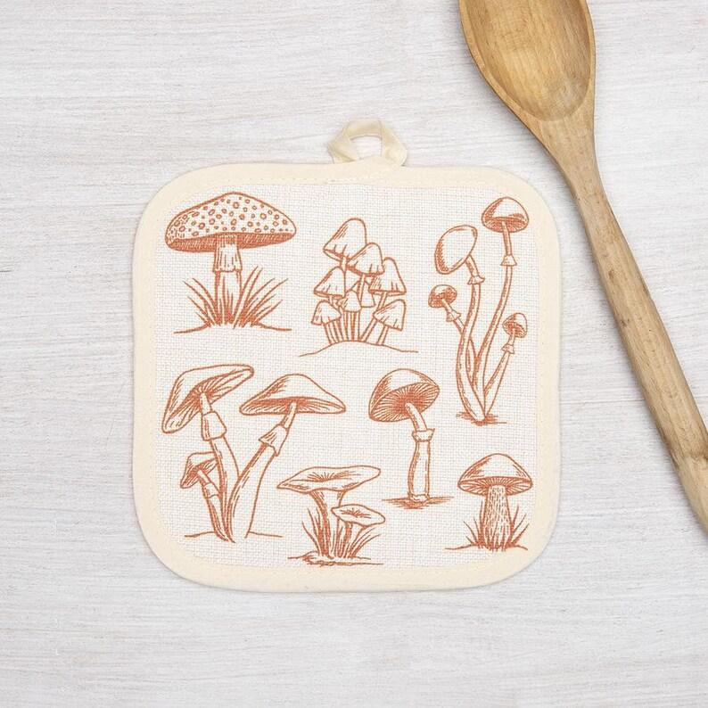 Mushrooms Pot Holder
