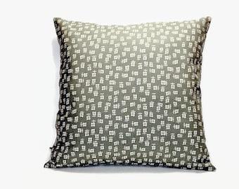 Apple Green Pillow Cover 16x16 Ralph Lauren Fabric, Green Pillow Covers. Pillow Covers, 16x16 Pillow Covers