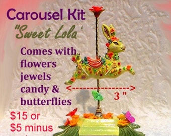 Bunny Carousel Kit