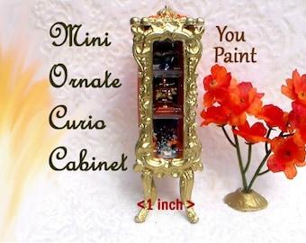 Miniature Curio Cabinet