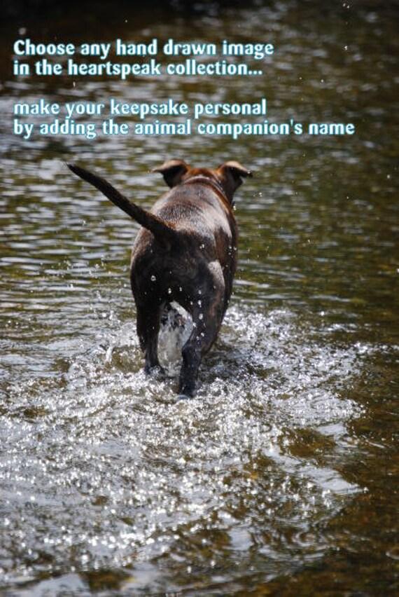 destination home ( a spirit's song ) choose an image/sentimental  cards/unique empathy condolence cards pet poem