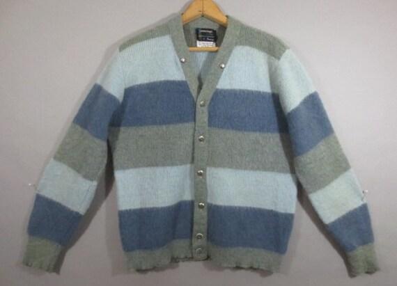Vintage 1960's Cardigan Sweater, TOWNCRAFT PLUS, P