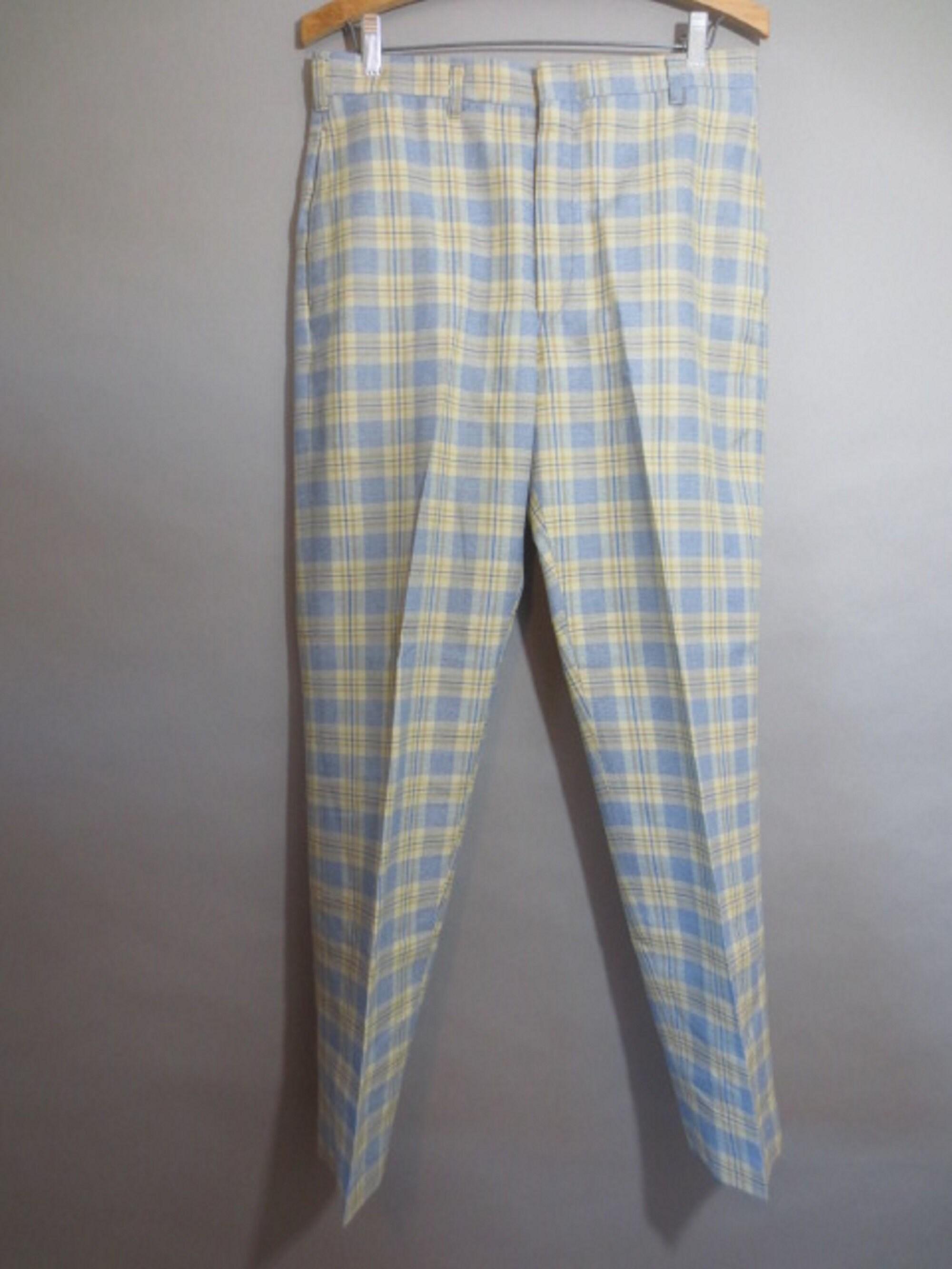 1960s – 70s Men's Ties | Skinny Ties, Slim Ties Vintage 1960s Levis Pants, Young Mens Sta-Prest Pants, Plaid, Tapered Legs, Side Slit Pockets, Belt Loops, Good Condition...31 X 28 12 $35.00 AT vintagedancer.com