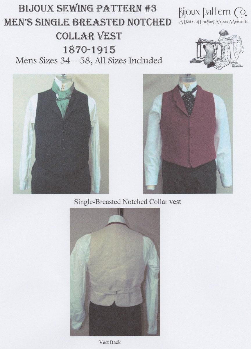 Vest Sewing Pattern Interesting Design