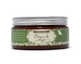 Citrus & Sage Body Butter 8oz Jar