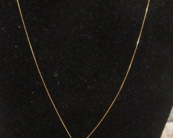 14KT Floating Heart Necklace