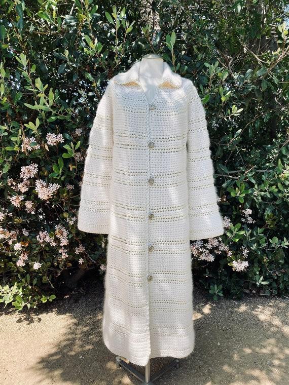 Vintage Angora Coat