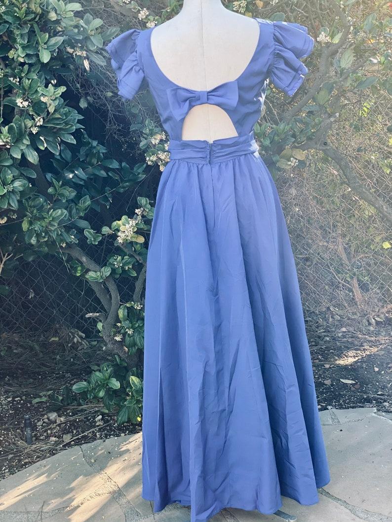 Royal Blue Bridesmaid Dress