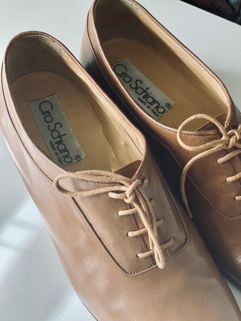 Ciro Schiano Leather Oxfords