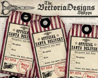 Christmas Tags, Printable Christmas Gifts, Christmas Decoration, Christmas Labels, Gift Tags, Christmas Scrapbook, Delivery Tags VD0565