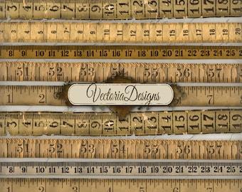 Vintage Tape Measure, Old Tape Measure, Digital Collage Sheets, Digital Tape, Paper Tape Measure, Massband, Paper Ephemera, Art 000271