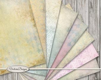 Alice In Wonderland Paper Pack, Digital Paper, Scrapbook Paper, Background Paper, Nursery Decoration, Decorative Paper, Art Paper 001641