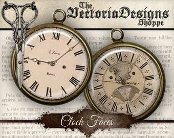 Clock Circles - 1 inch / 16 mm / 14mm / 12mm - VDCIVI0037