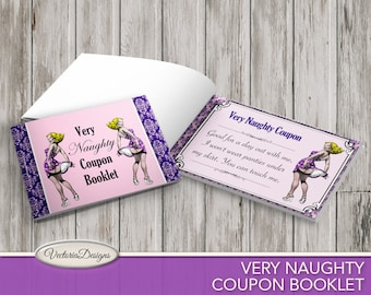 Sexy Coupons, Naughty Coupons, Printable Coupon Book, Digital Coupons, Valentines Day Gift For Him, Erotic Coupons, Men Gift  VDCOER1578