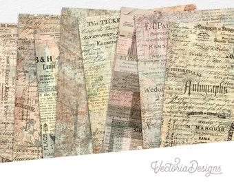 Stylish Textures Paper Pack, Printable Paper Pack, Digital Paper, Decorative Paper Pack, Scrapbook Paper Pack, Paper Craft Art  002241