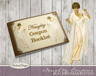 Printable Naughty Coupon Book, Sex Coupons, Valentine's Day Gift, Printable Man Gift, Naugty Sex Coupons, Boyfriend Gift  - 001933