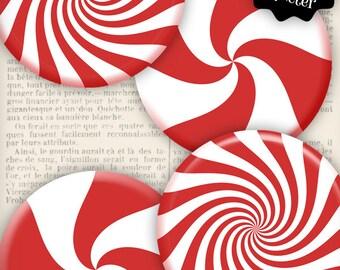 Christmas Peppermint, Christmas Decoration, Christmas Circles, Christmas Printables, Christmas Clip Art, Xmas Peppermint   VDCICH0990
