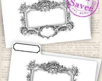 Printable File Folders - Save Ink / Add your own text - VDMISC1112