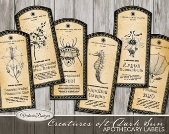 Printable Tags & Labels