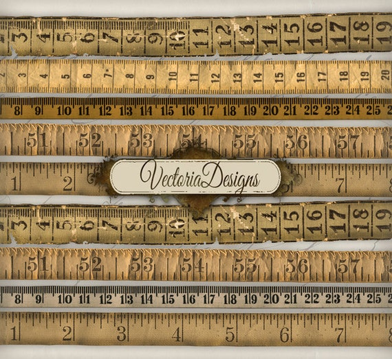 graphic regarding Printable Measuring Tapes identify Basic Tape Evaluate measuring previous printable paper craft artwork pastime writing sbooking quick obtain electronic collage sheet - VD0271