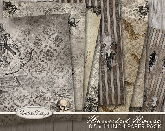 Haunted House Halloween Paper Pack
