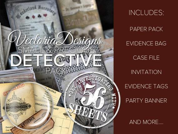 Sherlock Holmes Detective Pack Printable