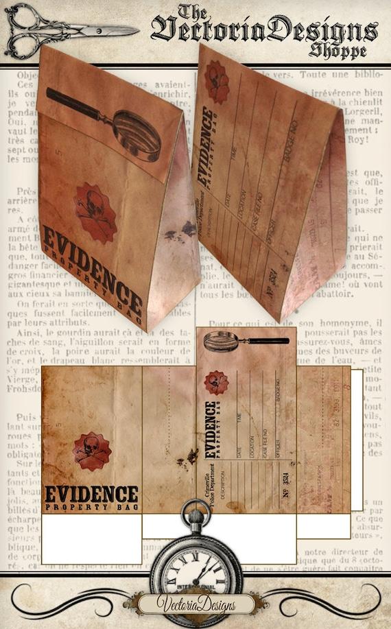Evidence Favor Bag
