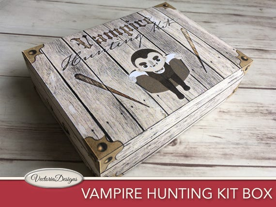 Vampire Hunting Kit Box