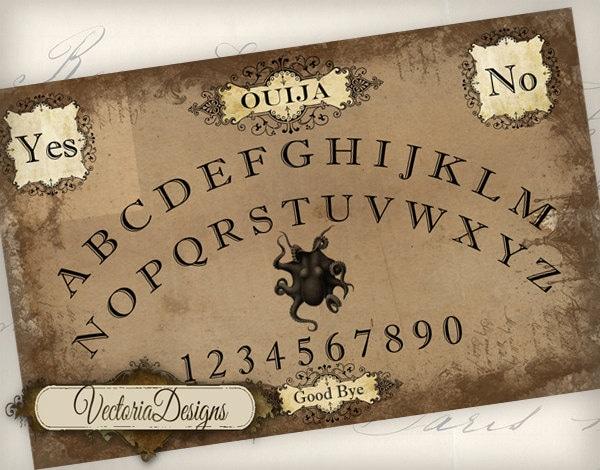photograph regarding Printable Ouija Boards referred to as Printable Ouija Board Substantial Shabby Stylish prompt obtain