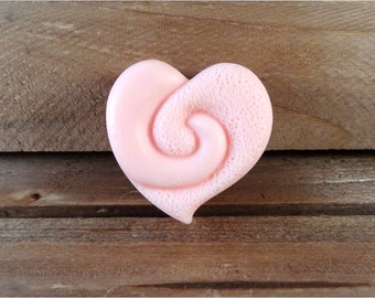 Heart Soap: Meet The Cutest Heart Soap Ever! Adorable Decorative Guest Soap, You Choose Color & Scent