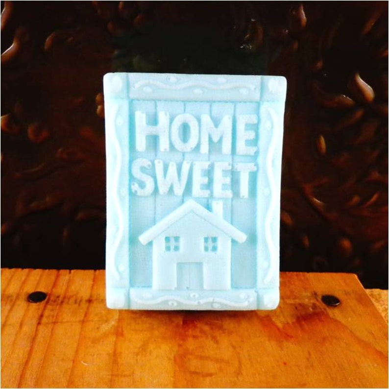 Soap: Home Sweet Home Decorative Guest Soap Bar Great image 0