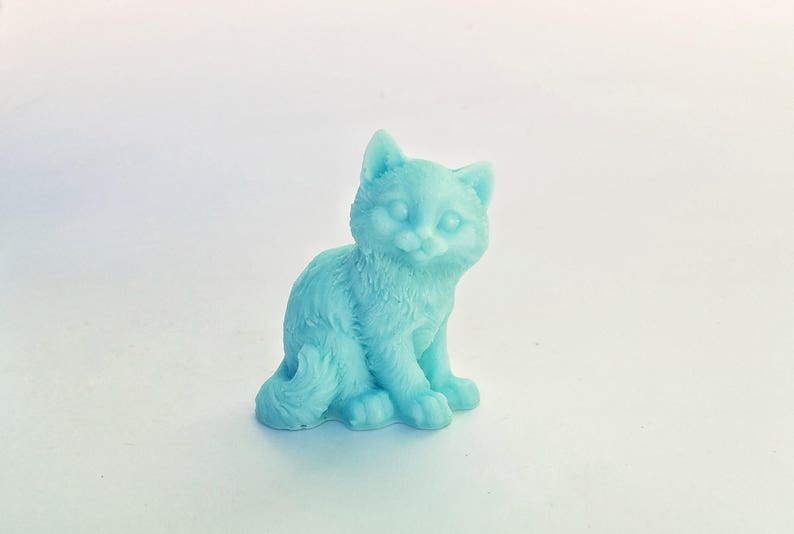 Cat Soap: Sittin Pretty  Prissy Kitty Cat Soap You Choose image 0