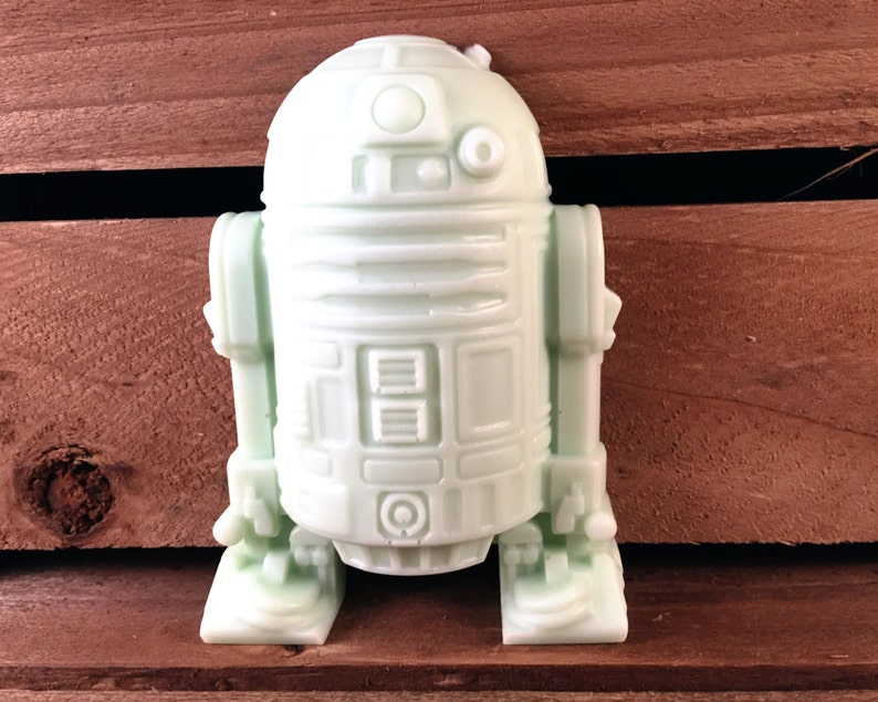 Soap: R2D2 Star Wars Robot Man Soap You Choose Color & Scent image 0