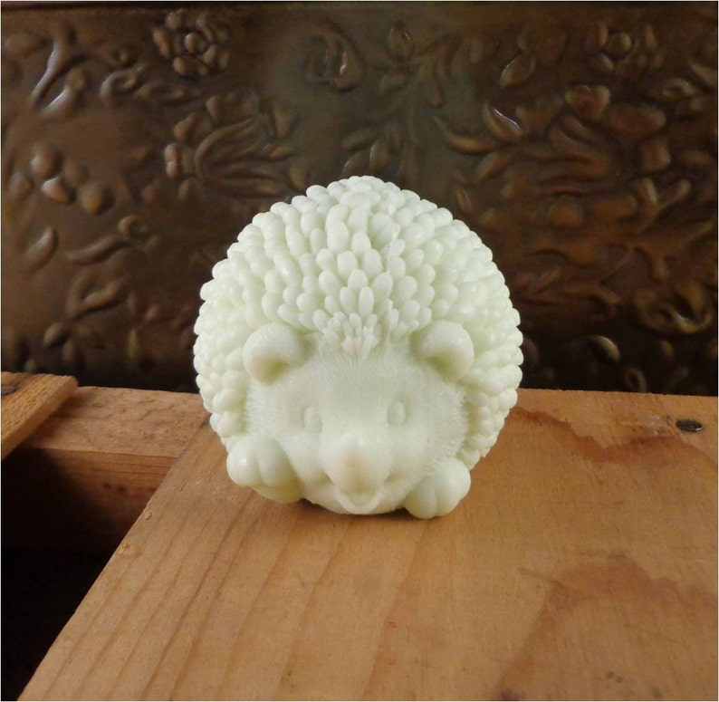 Hedgehog Soap: Adorable Baby Hedgehog Shaped Soap You Pick image 0