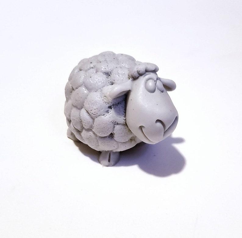 Sheep Soap: A 3D Bar of Soap Shaped Like a Sheep You Choose image 0