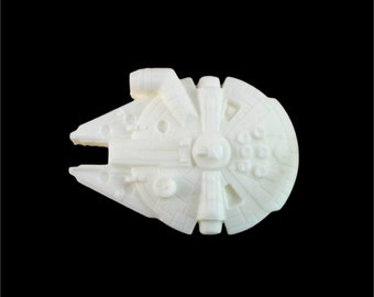 Soap: Millennium Falcon Star Wars Ship Soap, You Choose Color & Scent
