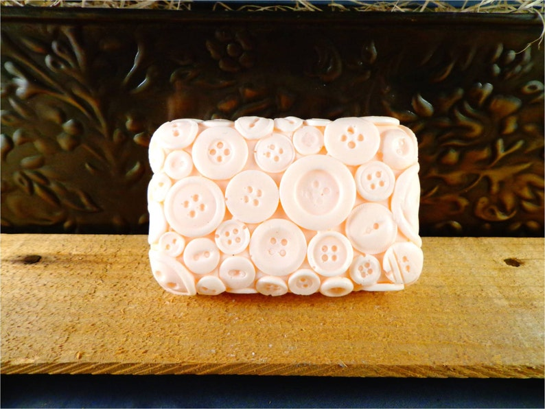 Button Soap: Decorative Button Bar Soap Looks Like Buttons on image 0