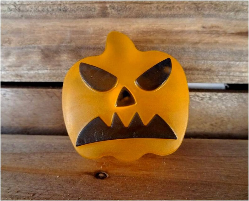Jack-O-Lantern Pumpkin Soap Great Halloween soap to go with image 0