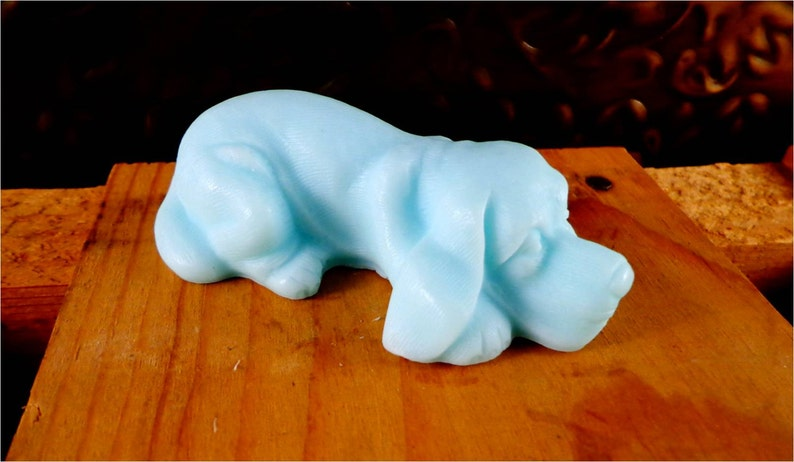 Soap: Lazy Mutt Dog Soap  Dog-Shaped Soap For Human Use You image 0