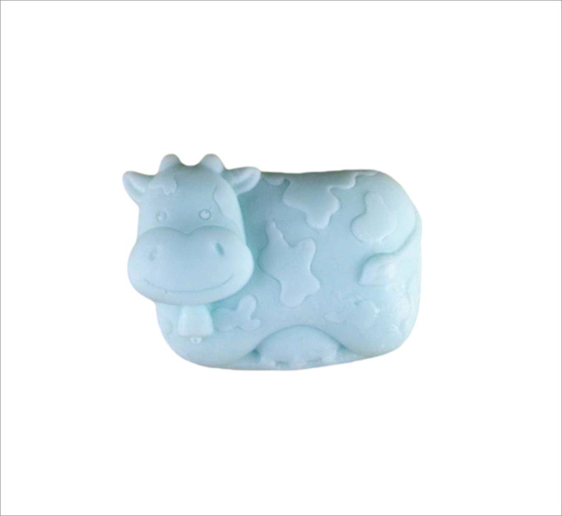 Cow Soap: Bessie the Adorable Dairy Cow Soap Bar You Choose image 0