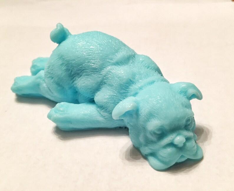 Soap: Downward Facing Dog Soap Bar You Choose Color & Scent image 0