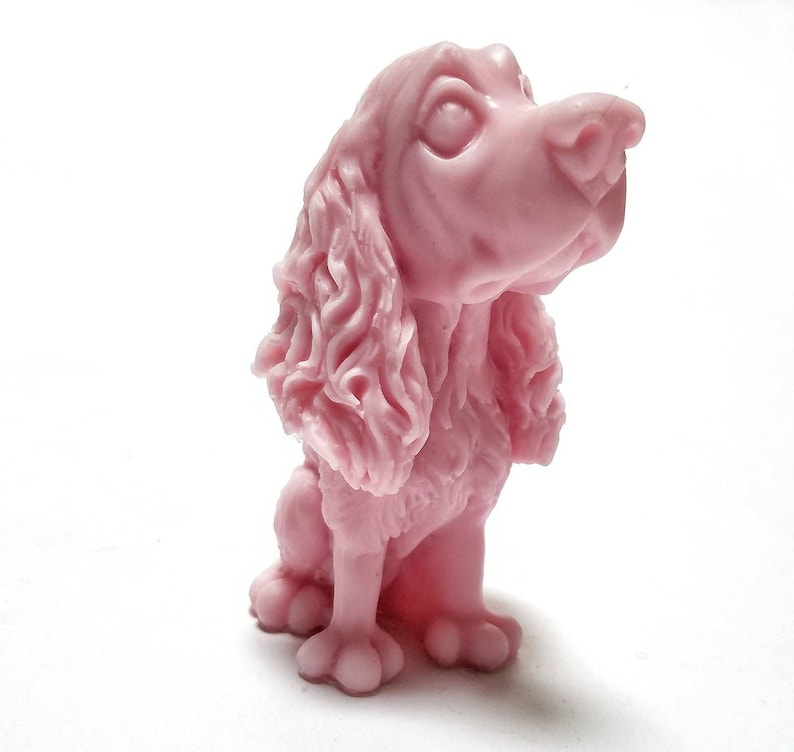 Soap: Ms. Snoot The Snooty Dog Soap Bar You Choose Color & image 0