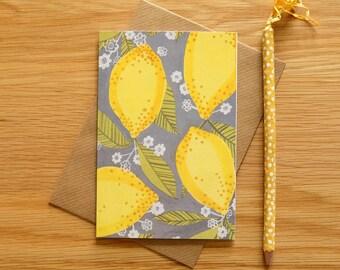 Lemons Illustration Card