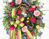 Large Spring Wreaths, Bir...