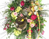 Spring Outdoor Wreaths, B...