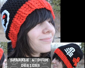 Twenty One Pilots Toque Trench Style slouch crochet hat  852ea1ca100