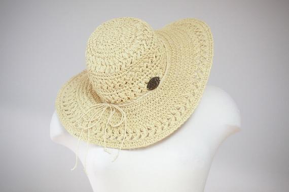 Panama Straw Hat |  Floppy Sun Hat