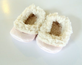 Handcrafted Sherpa Kids Slippers - Kids House Shoes - Gift for Boys - Gift for Girls