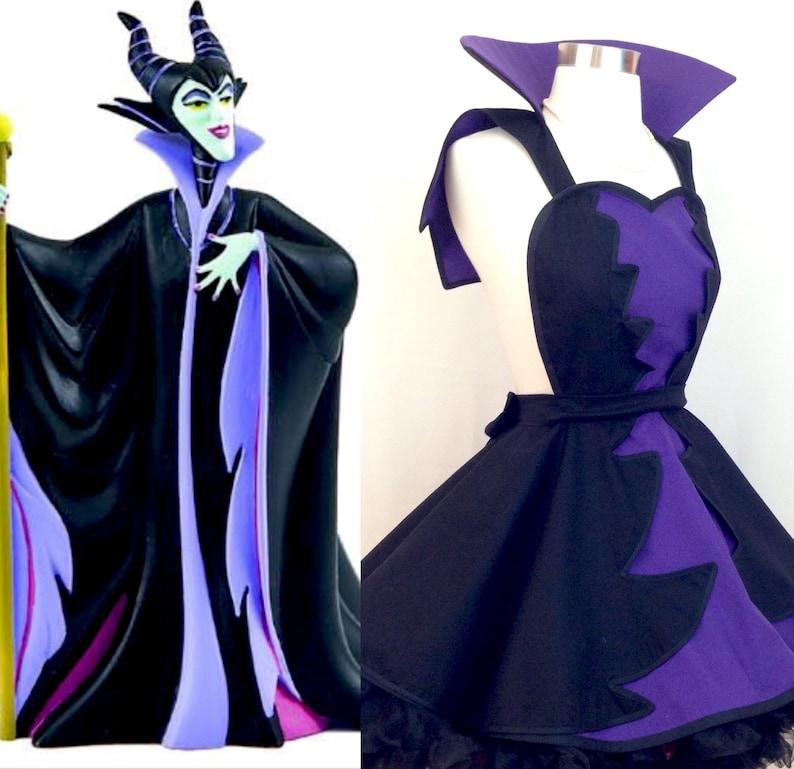 Malefient Costume Apron Sleeping Beauty Cosplay Mistress Of Evil Costume Disneybound Woman S Apron
