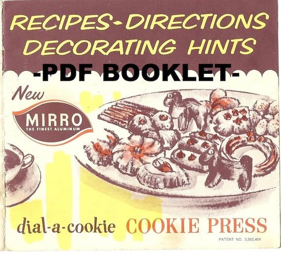 Mirro Cookie Press